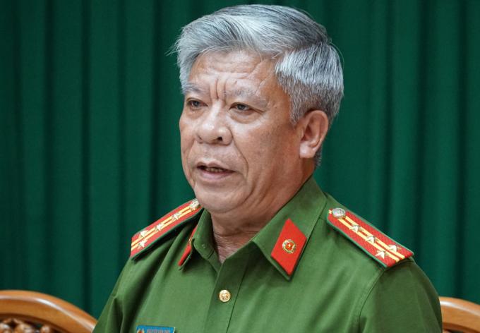 Đại tá Nguyễn Văn Thời, Phó Giám đốc Công an Bà Rịa - Vũng Tàu. Ảnh: Trường Hà.