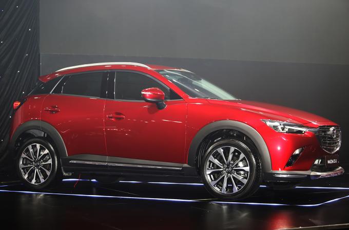 Mazda CX-3. Ảnh: Đắc Thành