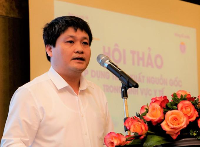 Ông Nguyễn Tử Hiếu phát biểu tại hội thảo. Ảnh: HT.
