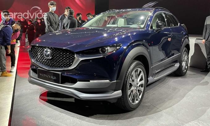 Mazda CX-30 EV. Ảnh: Car Advice