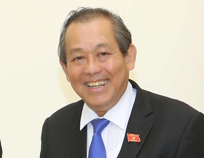 Phó thủ tướng Trương Hòa Bình. Ảnh: VGP