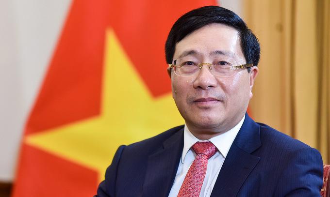 Phó thủ tướng Phạm Bình Minh. Ảnh: VGP