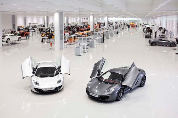 Trung tâm công nghệ của hãng siêu xe Anh. Ảnh: McLaren