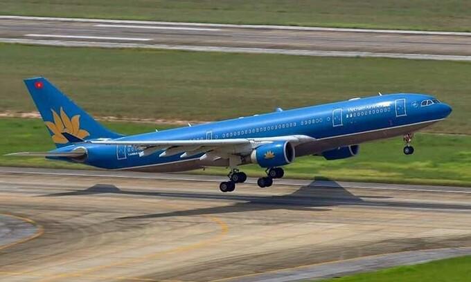 Một máy bay của hãng hàng không Vietnam Airlines. Ảnh: VNA.