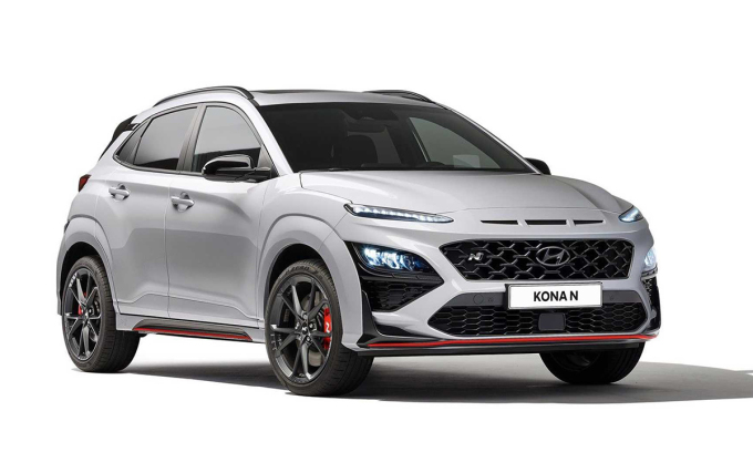 Kona phiên bản hiệu suất cao ra măt. Ảnh: Hyundai