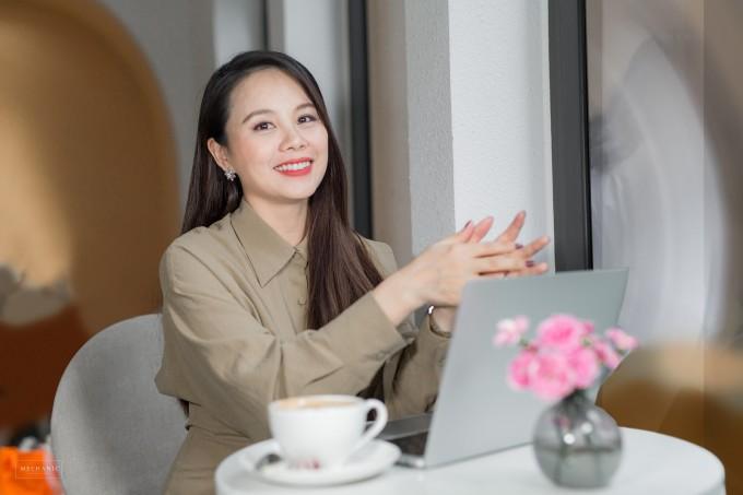Chị Nguyễn Thị Hoa - CEO Công ty CP Giáo dục và Đào tạo IMAP Việt Nam.