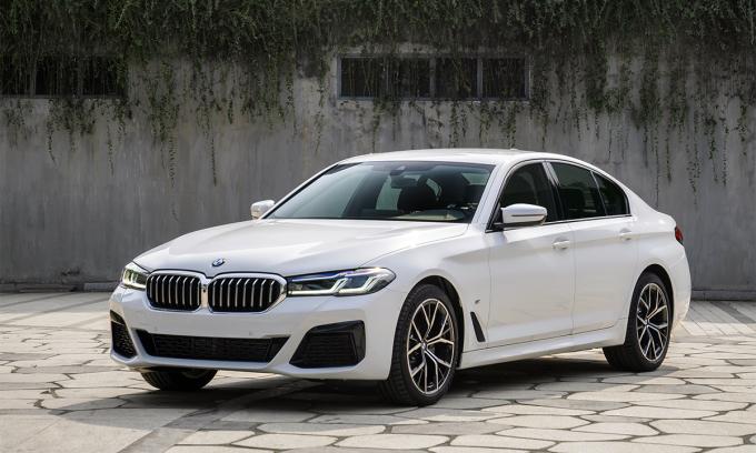 Sedan hạng sang BMW Series 5 bản 2021. Ảnh: BMW