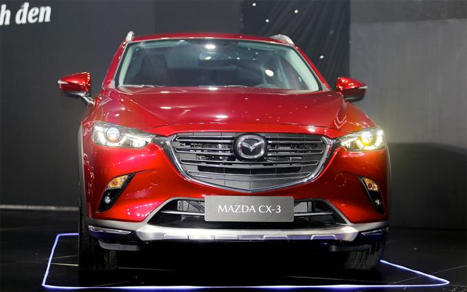 Mazda CX-3 mới ra mắt thị trường Việt Nam hôm 20/4. Ảnh: Đắc Thành