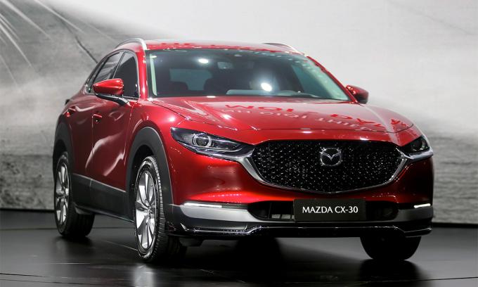 Mazda CX-30, đối thủ mới của Toyota Corolla Cross. Ảnh: Đắc Thành