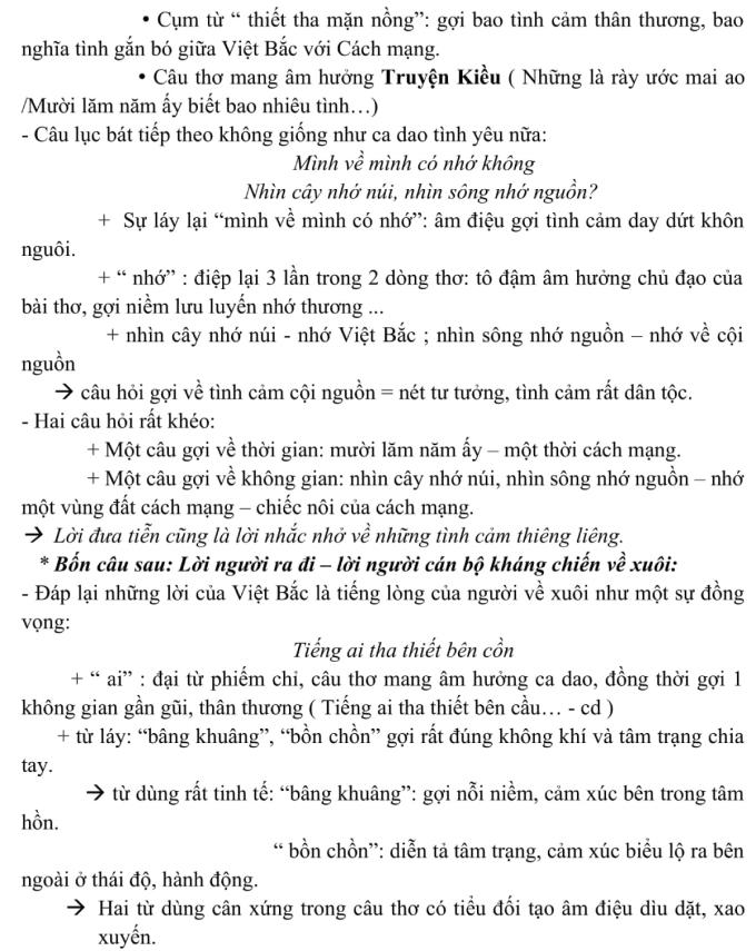 Phân tích đoạn thơ trong đề thi tốt nghiệp THPT - 3
