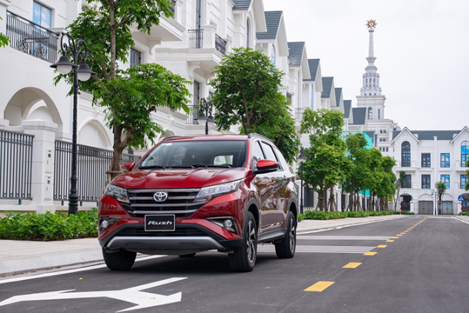 Toyota Rush - SUV 7 chỗ giá dưới 700 triệu đồng.