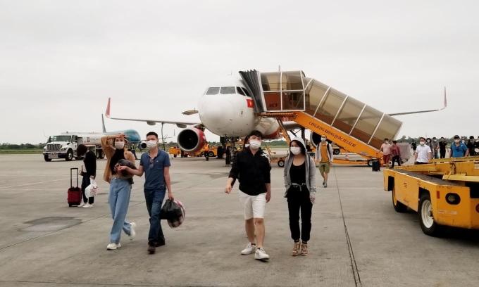 Sân bay Cát Bi, Hải Phòng. Ảnh: CTV.