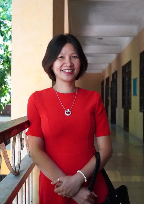 Cô Trần Hồng Hạnh. Ảnh: NVCC.