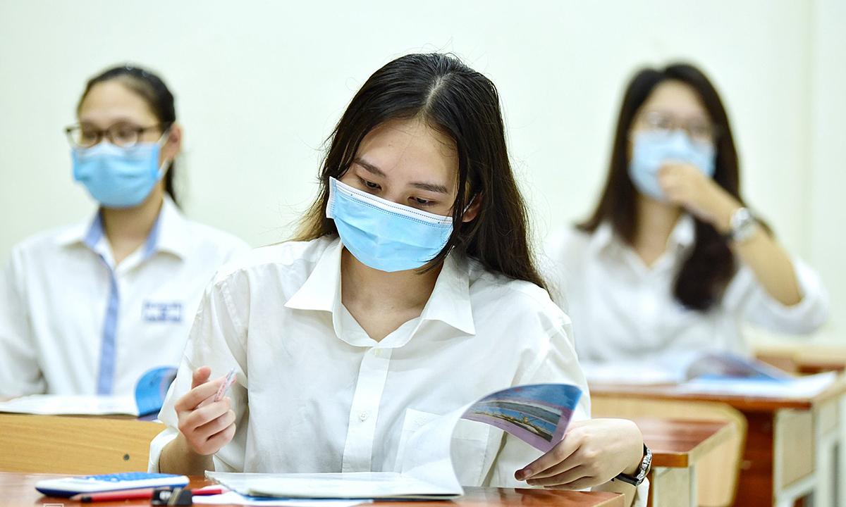 Có thể tổ chức nhiều đợt thi tốt nghiệp THPT