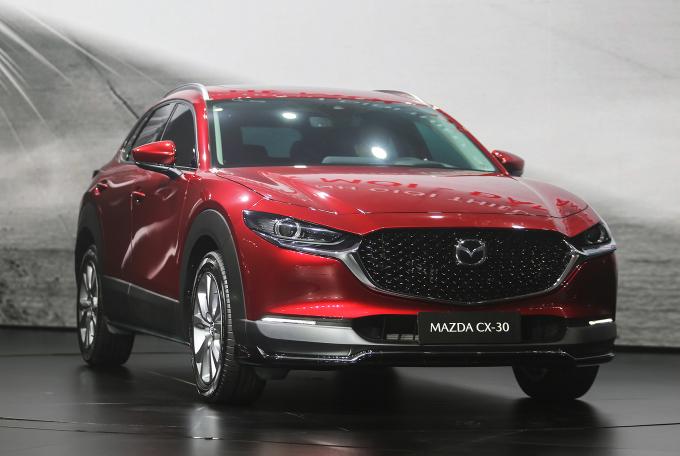 Mazda CX-30 tại sự kiện ra mắt tại Quảng Nam, tháng 4/2021. Ảnh: Đắc Thành