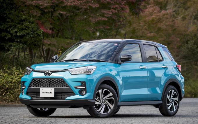 Toyota Raize tại Nhật Bản. Ảnh: SUVDrive