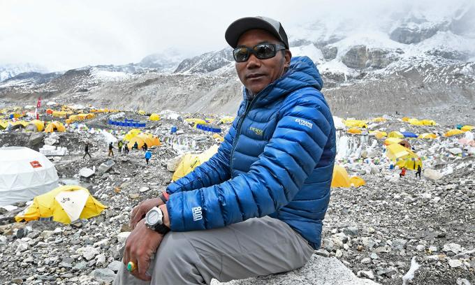 Người 25 lần chinh phục đỉnh Everest