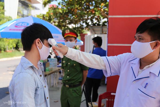 Quảng Trị cho học sinh nghỉ học từ ngày 10/5 để phòng chống dịch Covid-19. Ảnh: Hoàng Táo