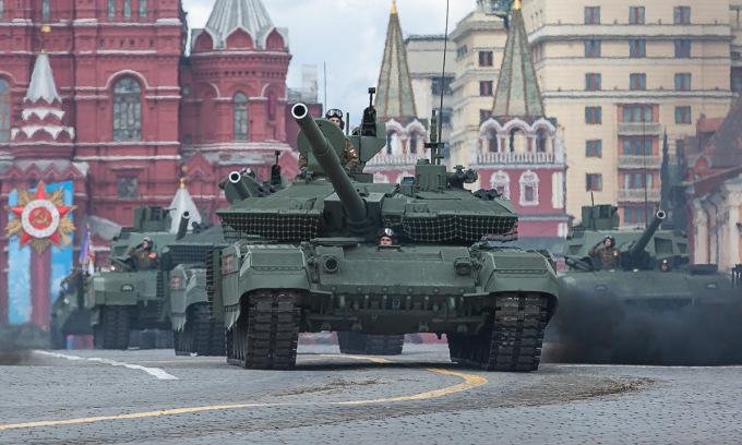 12.000 binh sĩ Nga sắp Duyệt binh Chiến thắng