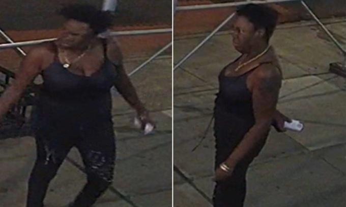 Nghi phạm Ebony Jackson trong vụ tấn công hai người gốc Á ở New York, Mỹ đầu tháng này. Ảnh: Cảnh sát New York.