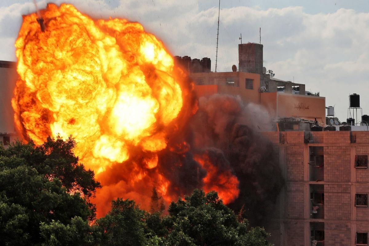 Dải Gaza tan hoang sau đòn thù Israel