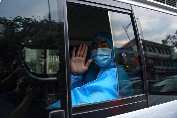 Đoàn y tế của Hà Nội sẽ truy vết tại khu công nghiệp Vân Trung, huyện Việt Yên, tỉnh Bắc Giang. Ảnh: Giang Huy.