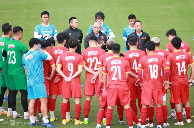 HLV Park Hang-seo gây bất ngờ khi loại nhiều cầu thủ có tên tuổi.