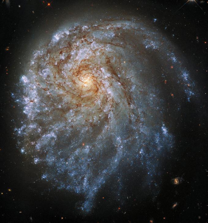 Thiên hà NGC 2276 chụp bởi kính Hubble. Ảnh: NASA/ESA.