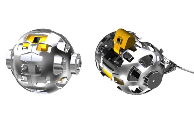 Thiết kế robot Mặt Trăng nhỏ gọn của JAXA. Ảnh: JAXA.