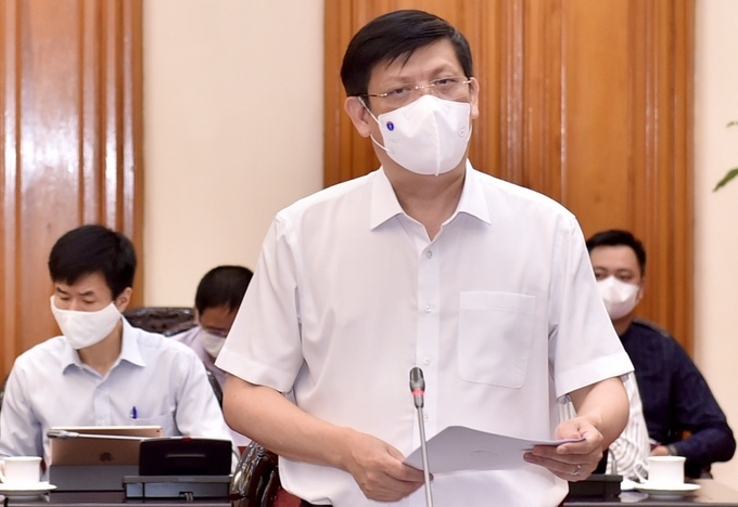 Bộ trưởng Y tế Nguyễn Thanh Long. Ảnh: Nhật Bắc