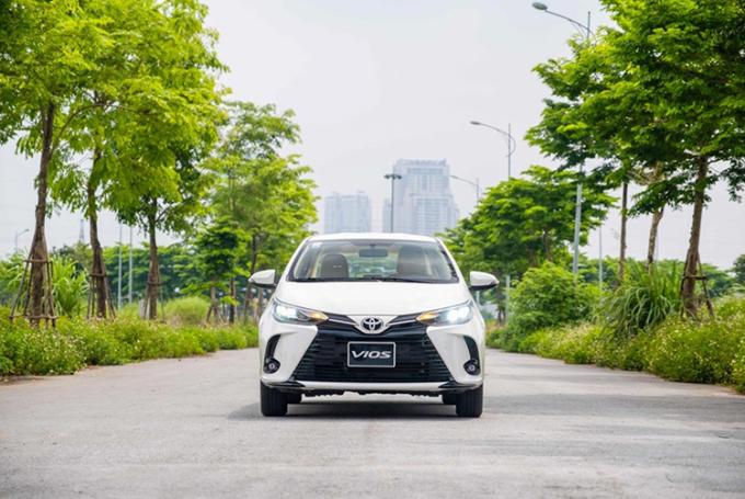Toyota Vios phiên bản 2021.