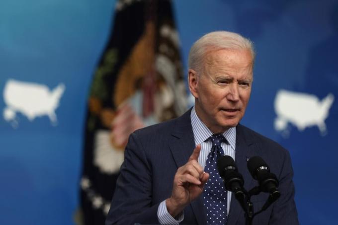 Joe Biden tại Nhà Trắng ngày 2/6. Ảnh: AFP.