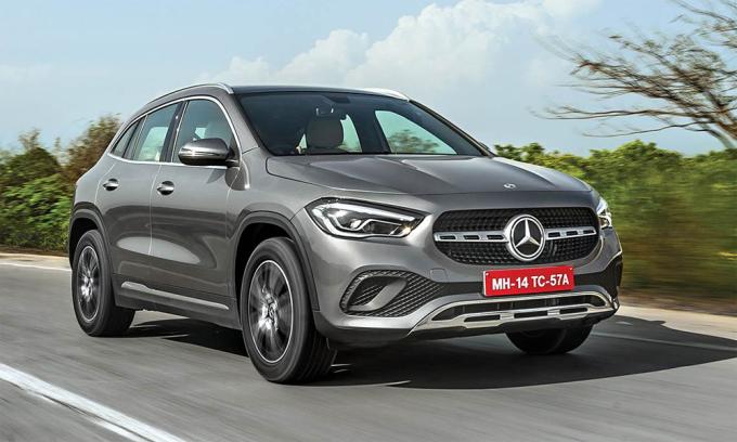 Mercedes GLA thế hệ thứ hai mới ra mắt tại Ấn Độ. Ảnh: Mercedes