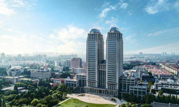 Đại học Phúc Đán ở Thượng Hải, Trung Quốc. Ảnh: China-admisssion.