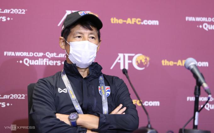 HLV Nishino thất vọng khi chỉ có một điểm trong trận đấu với Indonesia. Ảnh: Lâm Thoả