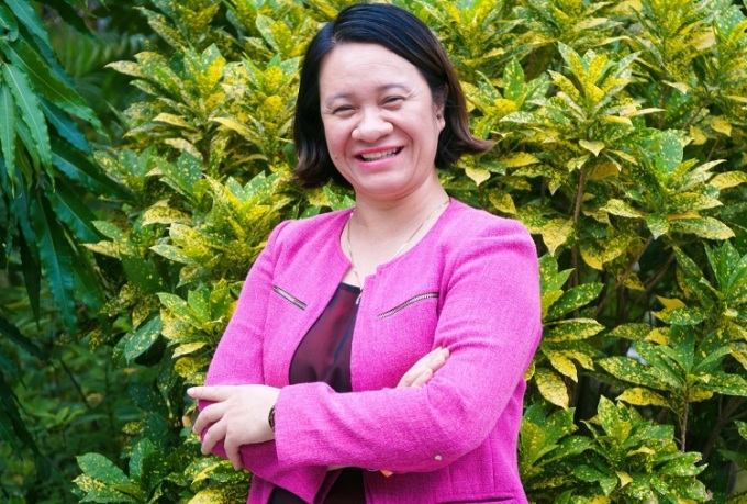 Bà Ngụy Thị Khanh, nhà hoạt động môi trường, đồng thời là Giám đốc điều hành Green ID đại diện châu Á nhận giải thưởng năm 2018. Ảnh: Green ID.
