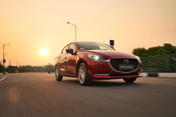Mazda2 mới tại Việt Nam.