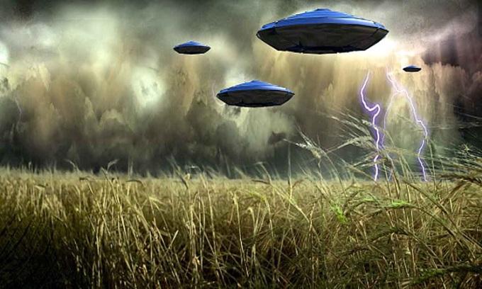 AI có thể giúp nhà chức trách phân loại UFO nhanh hơn. Ảnh: Aaj Tak.