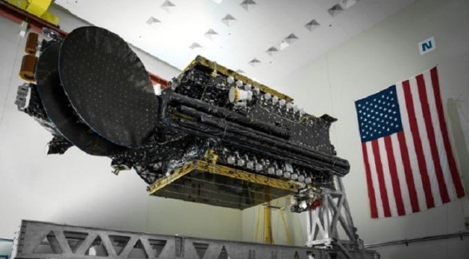 SXM-8 được tên lửa Falcon 9 phóng lên quỹ đạo. Ảnh: SpaceX.