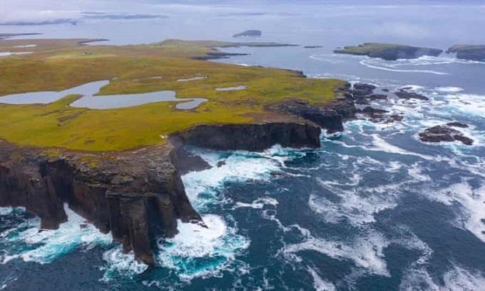 Bờ biển ở quần đảo Shetland. Ảnh: Alamy.