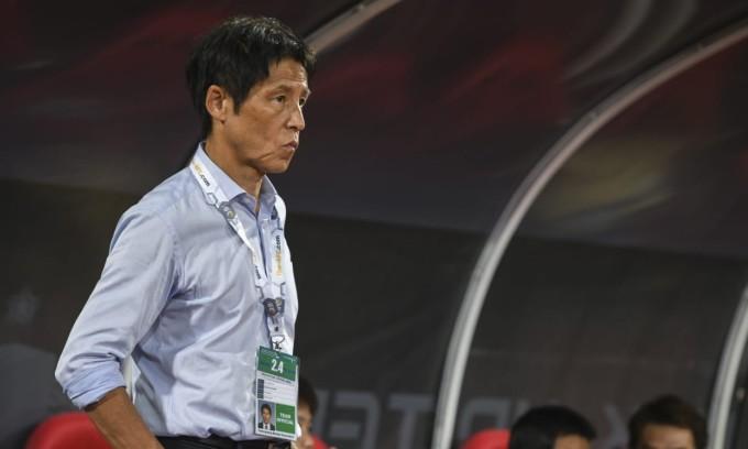 Nishino đứng trước sức ép lớn sau khi Thái Lan hết cửa đi tiếp ở vòng loại World Cup. Ảnh: AFC.