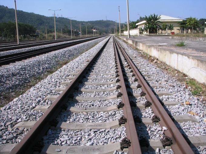 Ga Cái Lân, TP Hạ Long nơi trường hợp F2 đi qua. Ảnh: Minh Cương
