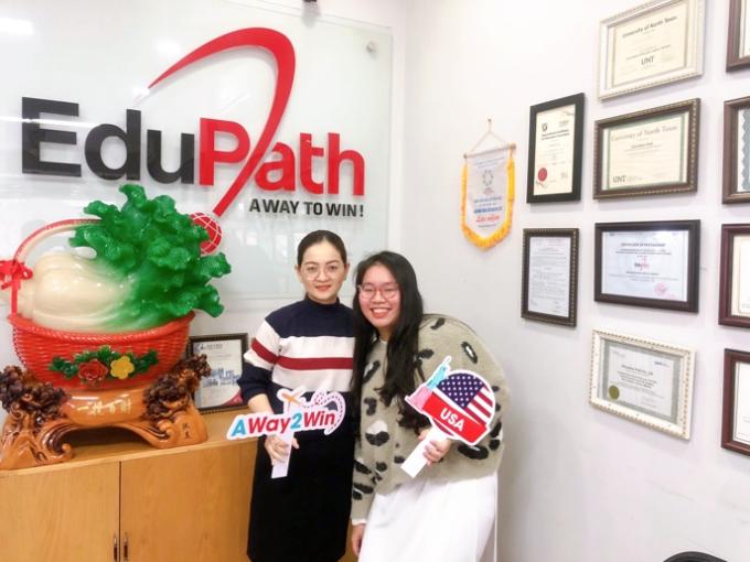 Thời gian chuẩn bị visa du học của Dung Huỳnh khoảng 2 tháng ngay trong thời điểm dịch.