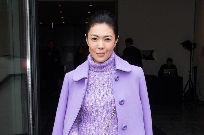 Tô Mang, cựu tổng biên tập tạp chí Harpers Bazaar Trung Quốc. Ảnh: GC.