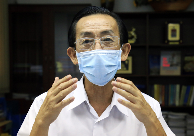 PGS. TS Trần Hoàng Ngân, Viện trưởng Nghiên cứu Phát triển TP HCM. Ảnh: Hữu Công.