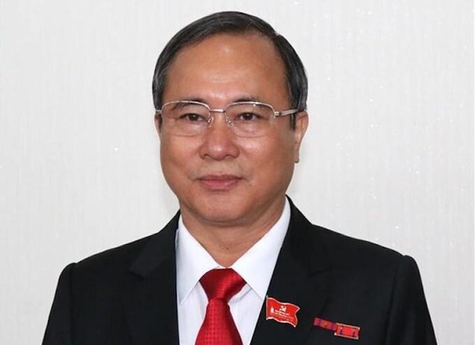 Bí thư Tỉnh uỷ Bình Dương Trần Văn Nam. Ảnh:TTX.