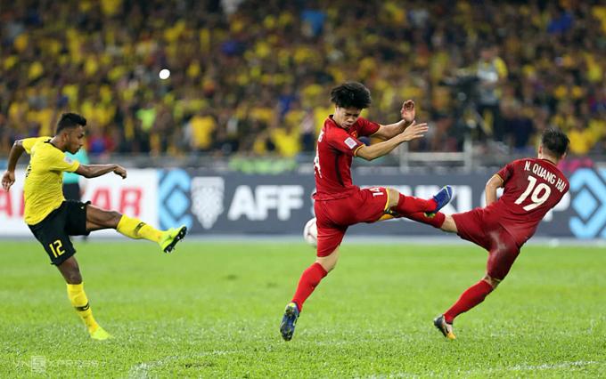 Malaysia luôn biết cách làm các đối thủ lớn trong khu vực như Việt Nam hay Thái Lan đau tim mỗi khi vào các trận cầu quan trọng. Ảnh: Đức Đồng