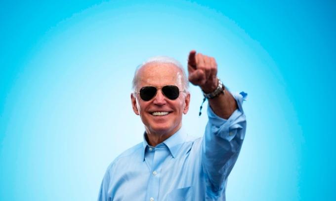 Joe Biden phát biểu trong chiến dịch vận động tranh cử ở Florida hồi tháng 10/2020. Ảnh: AFP.