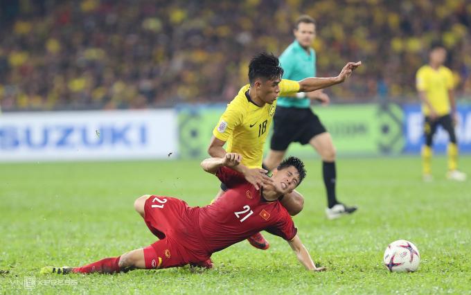 Đối đầu Malaysia chưa bao giờ là nhiệm vụ dễ dàng với tuyển Việt Nam, dù chúng ta đang vượt trội họ về thành tích đối đầu lẫn phong độ. Ảnh: Đức Đồng