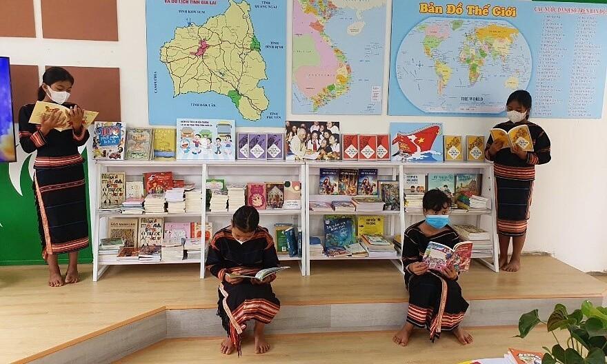 Không gian đọc sách hiện đại cho học sinh Pleiku